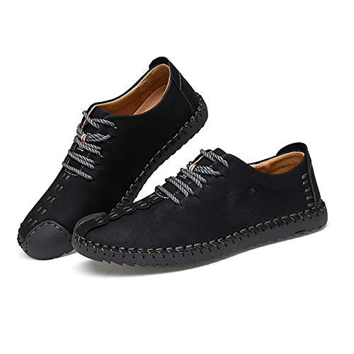 N / E Suave Ocio Mocasines de los Hombres Casual de la Moda Juvenil de Tacón Plano Mocasines de Conducción de Cuero Duradera Slip-On All-Match Zapatos accesorios para el hogar