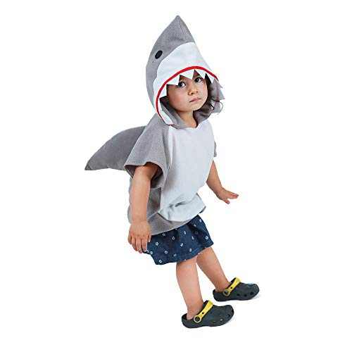 Coco Said Childs Animal Tabard: Shark (One Size(90-120cm, niña)