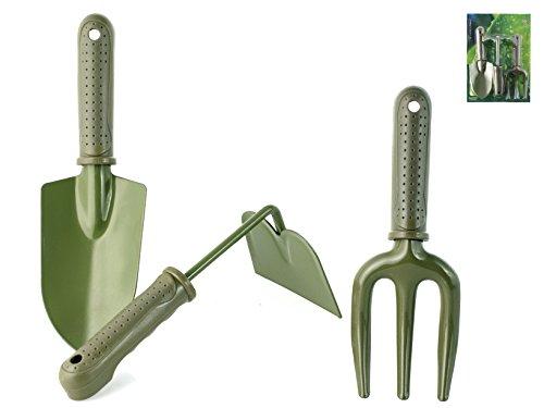 Home 8699200 Kit 3 Outils de Jardin, Vert