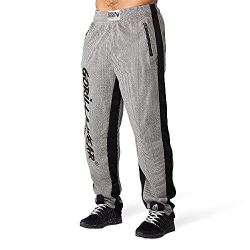 GORILLA WEAR - Augustine Old School Pants - grau - Bodybuilding und Fitness Bekleidung Herren, L/XL