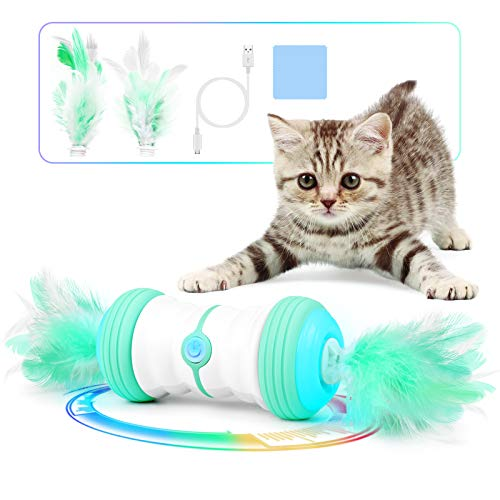 (15% OFF Coupon) Magic Feather Interactive Cat Toy $16.99