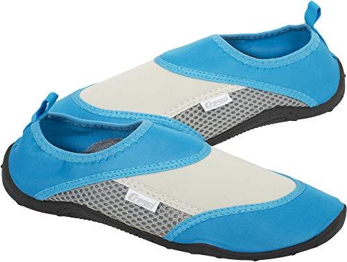 Cressi Coral Shoes Zapatilla para Deportes Acuáticos, Adultos Unisex, Aguamarina/Gris, 35