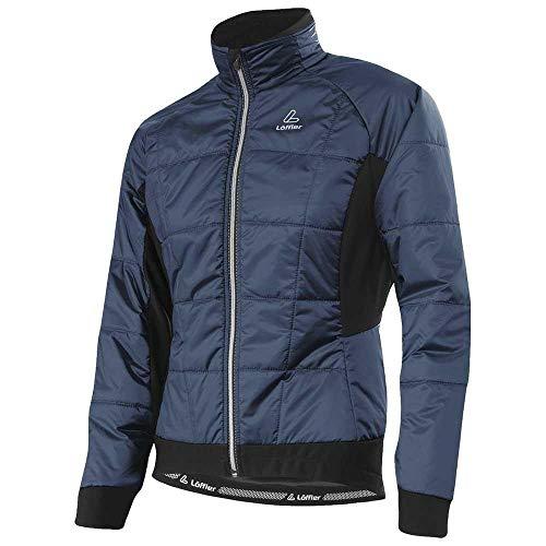LÖFFLER Damen Iso-Jacke Primaloft Mix Fahrradjacke grau 44