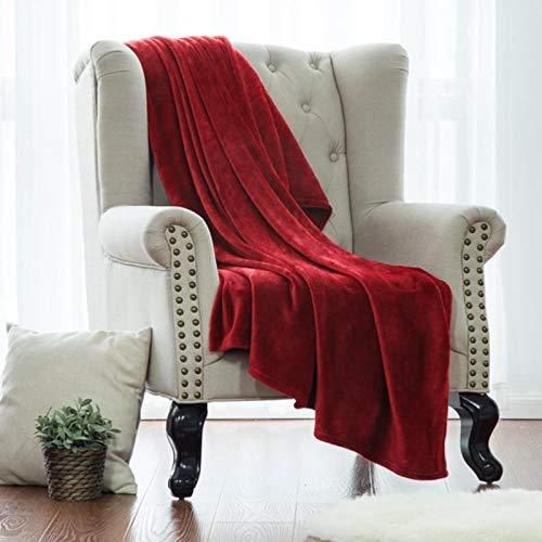 Manta Reversible Manta De Sofá Manta De Microfibra Manta de tiro caliente, manta de lana de microfibra Manta de lujo Super Suave Sueño Mantas acogedoras para todas las temporadas Adultos Niños