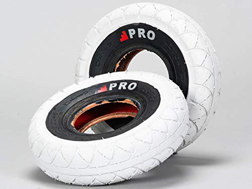 Rocker BMX Street Pro Neumáticos - Blanco/Blackwall con tubos gratis