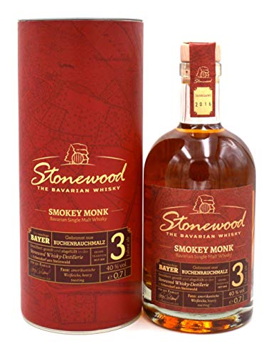 Schraml Stonewood Smokey Monk Whisky 0,7l Jahrgang 2016