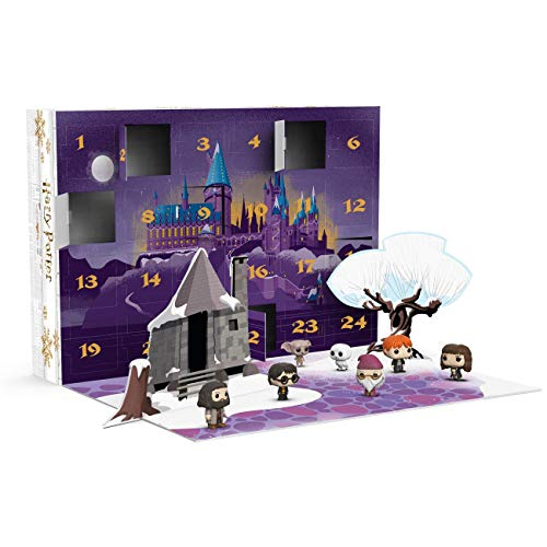 Funko- Pop Advent Calendar Potter-24 Piece Harry Potter Figura Coleccionable, Multicolor, Talla única (34947)