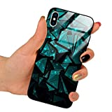 Funnycase Glass Funda Mix Patrones con Vidrio Templado Compatible con Huawei P Smart 2019 / Honor 10 Lite Caso de Silicono Transparente para Proteger tu Telefono MXE114