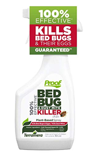 Proof Bed Bug & Dust Mite Killer (Spray, Large)