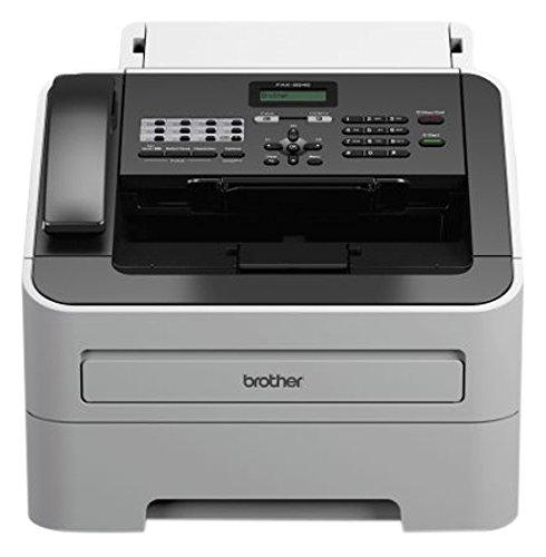 Brother Fax-2845 Laser-Faxgerät, grau/schwarz