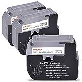 MYTONER Compatible Label Tape Replacement for Brother M Tape 12mm 0.47 inch M-K231 MK231 MK-231 M231 Black on White Work with Brother P-Touch Label Maker PT-M95 PT-90 PT-80 PT-65 PT-70BM PT-85, 3-Pack