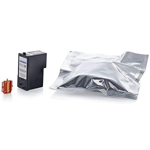 P3-S-BK, inktcartridge, zwart, voor zuivere etiketteringsapparaten, mobiele inkjetprinters en elektrische stempels