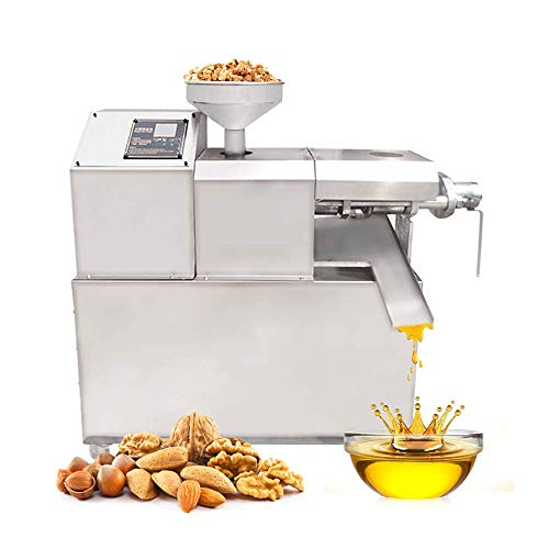 Buy Bargain JIAWANSHUN Industrial Oil Presser Nut Seed Oil Extractor Hot Pressed Machine110-132lb/h ...