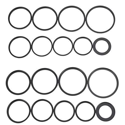 Cobeky Juego de 18 filtros de lente para cámara de 37 a 82 mm.