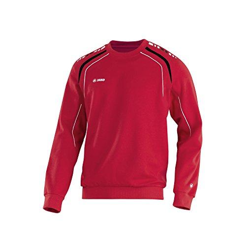 JAKO Sweat Champion - Sudadera de fútbol para Hombre, Color Rojo/Negro, Talla 2XL