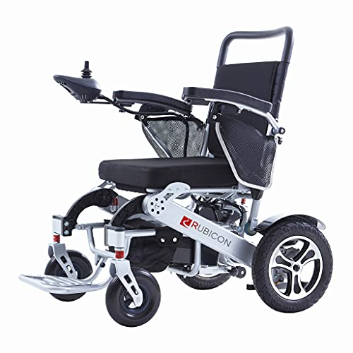 Exclusive Electric Wheelchairs, One Click Automatic Fold and Unfold with Remote Control, Super Horse Power (600W Motor Power), Longer Range (up to 20miles) Weatherproof, Stronger