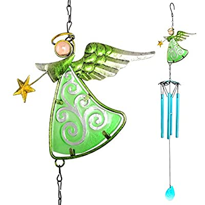 zhengshizuo Wind Chimes Outdoor,Gifts for mom,Angel Wind Chimes,Outdoor Decor,Gifts for Kids, Mom Gifts,Thanksgiving Gift, Grandma Gifts,Unique Wind Chimes,Memorial Wind Chime, Room Decor, Home Decor