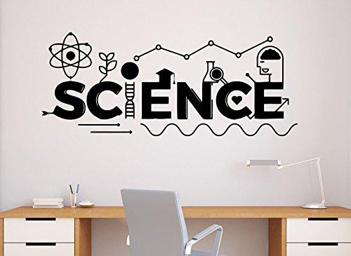 Science Wall Decal School Education Vinyl Sticker Classroom Interior Home Art Decor Ideas Bedroom Living Room Office Buy Online In United Arab Emirates At Desertcart Ae Productid 46586722