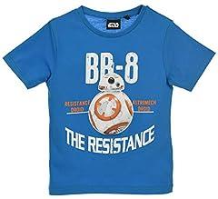 Star Wars Niños Camiseta De Manga Corta