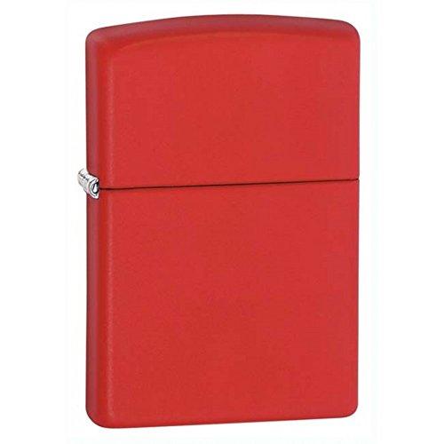 Zippo Classic rot matt Outdoor Innen Winddicht Feuerzeug GRATIS Individuelle Gravur Permanent Lebenslange Gravur auf Rückseite