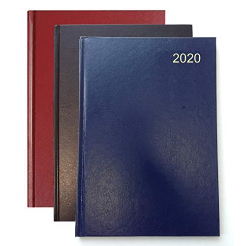Collins Essential - Agenda 2020, visualizzazione settimanale, formato A5, Timbro laminato, colori assortiti