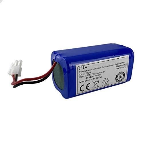 WXZQ Recargable para batería ILIFE + Filtro de Cepillo 14,8 V 2800 mAh Aspiradora robótica Accesorios para Chuwi para Ilife A4 A4s A6 Multicolor K614x4 + I210