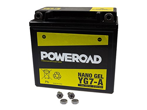 GEL-Batterie-Poweroad YB7-A 12N7-4A 8AH für Generic Harley Davidson Keeway KSR-Moto SYM Vespa