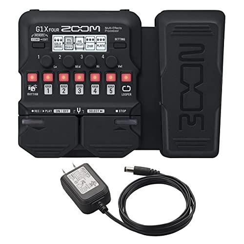 【純正ACアダプター付】ZOOM ズーム ギター用マルチエフェクター G1X FOUR