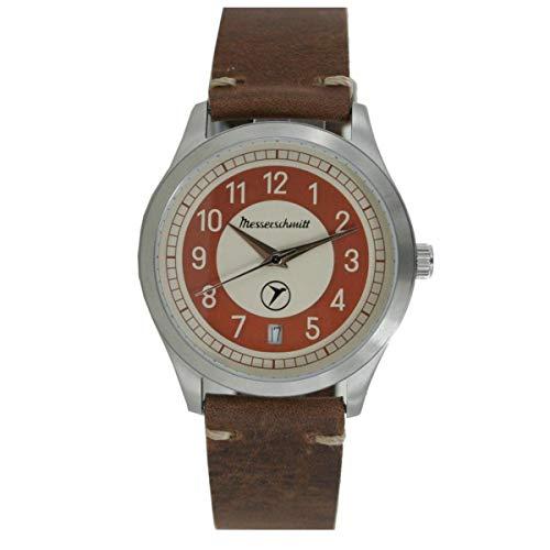Aristo Messerschmitt Uhr Vintage Kabinenroller KR201-B Leder
