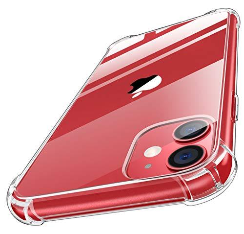 MoKo Kompatibel für iPhone 11 Hülle, Kristall Klar Durchsichtig Ultra Slim TPU Handy Schutzhülle Schale Silikon Handyhülle Case für Apple iPhone 11 6.1 Zoll 2019 - Transparent