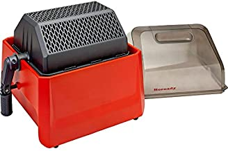 Hornady Rotary Media Sifter 050207 - Easily Separate Corn Corb or Steel Pin Tumbling Media From Cartridge Cases - Media Separator with Rotating Handle, Clear Lid, Sifter Drum Halves, & Locking Pin