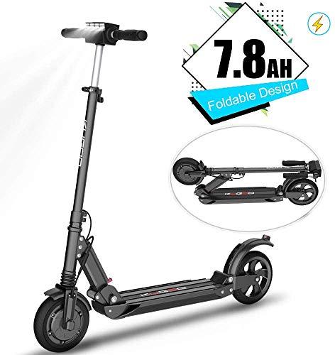 Kugoo Patinetes eléctricos- 350W, E-Scooter De 8.5'', Ligero Plegable con Pantalla LCD, 30KM De Largo Alcance, Patines De 36V, Velocidad Máxima De 30Km/h, Freno Eléctrico para Adultos y Adolescentes