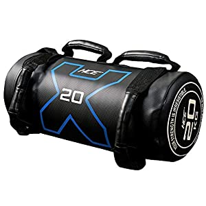 HCE 20KG Weight Bag Powerbag with Fabric Handle - Durable Weighted Power Bag, Heavy Strength Lifting Sandbag Excellent Exercise Equipment for Crossfit, Bulgarian Military Training Workout by China