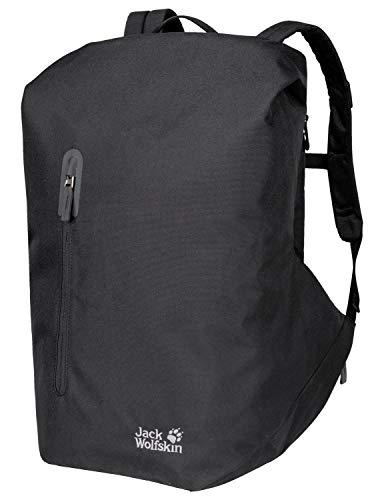 Jack Wolfskin Coogee Rolltop Rucksack Daypack, Black, ONE Size