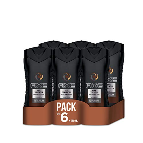 Axe Dark temptation - Set de 6 geles de ducha (6 x 250 ml)