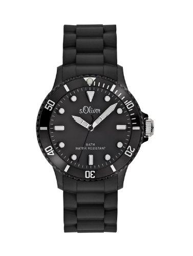 s.Oliver Unisex Analog Quarz Armbanduhr SO-2290-PQ