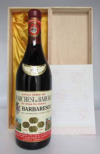 【お誕生日のプレゼントやギフトに最適】Barbaresco 1971 Marchesi di Barolo バルバレスコ 1971 マリケージ ディ バローロ [並行輸入品]