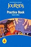 Journeys: Practice Book Teacher Annotated Edition Grade 4