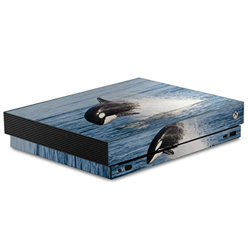 DeinDesign Skin kompatibel mit Microsoft Xbox One X Folie Sticker Orca Wal Meer