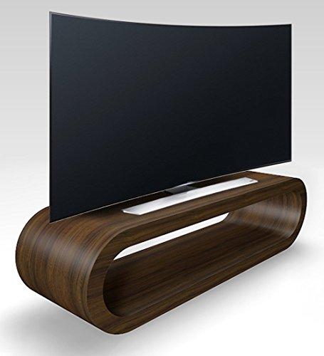 Cerceau de Style Rétro Grande Zebrano Meuble TV Mat/Armoire 110cm