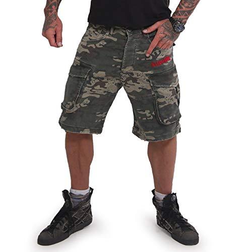 Yakuza Herren Tokyo Cargo Shorts