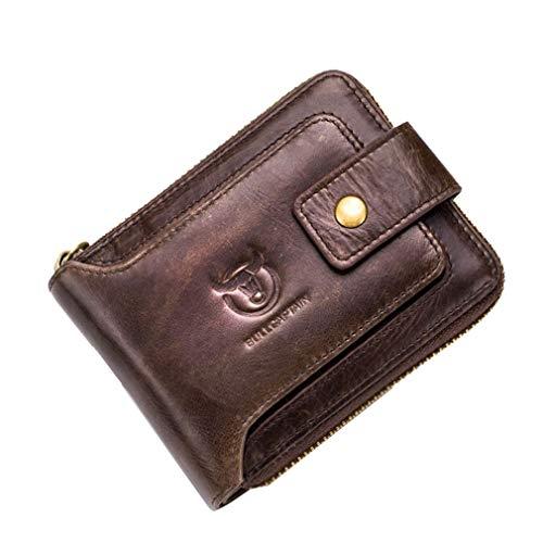 Men's Leather Fold Wallet