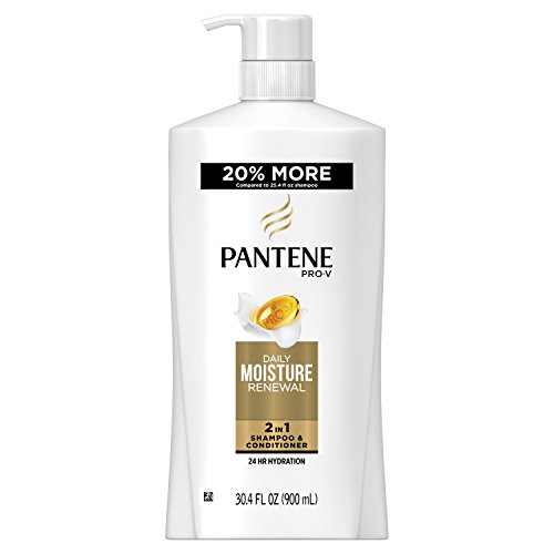 Price comparison product image Pantene Pro-V Daily Moisture Renewal 2 in 1 Shampoo & Conditioner,  30.4 fl oz (Packaging May Vary)