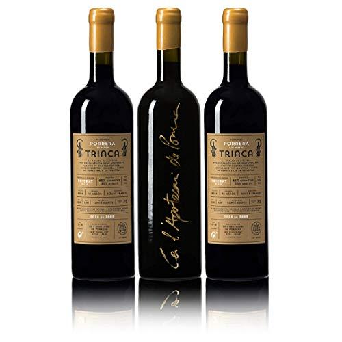 Triaca 2014 – Ca L'apotecari De Porrera – Vi De Vila D.O.Q Priorat, Tarragona – Levaduras Naturales – 16% Vol – Vino Tinto - 3.885 Botellas Numeradas – 3 Botellas De 75 Cl.