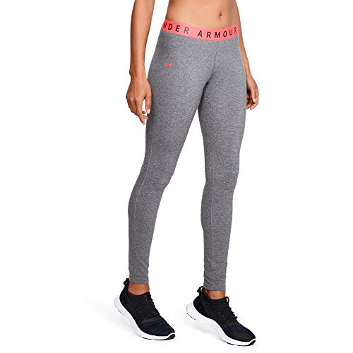 Under Armour Favorite Legging Leggings, Mujer, Gris (021), S