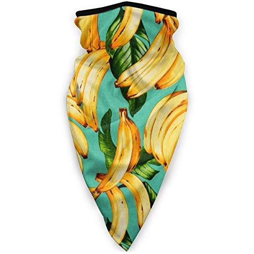 July bivakmuts banana tropische vruchten multifunctionele doek van polyester geschikt voor dagelijks gebruik