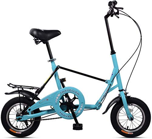 bester Test von mini folding bike XIUYU Mountainbike Mini Faltrad 12 Ultrakompaktes Single Speed Faltrad aus Kohlenstoffstahl mit hohem Kohlenstoffgehalt…