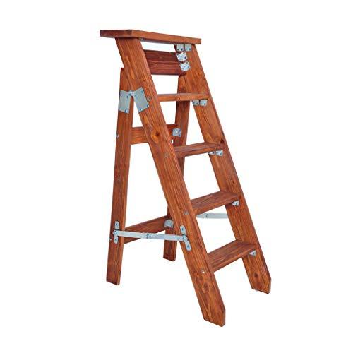 N / A Departamento de escaleras móviles bastidores de Escalera Herramienta de Planta de jardín de la Capacidad de la luz 220 LB Plegado Muebles heces 5 escalón de Distancia extendida