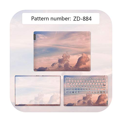 Funda para ordenador portátil con diseño de paisaje impermeable para Lenovo G40 80/FLEX 3 1570/YOGA 710/Ideapad 330C etc. Película antiarañazos ZD-884-IDEAPAD 310 14ISK