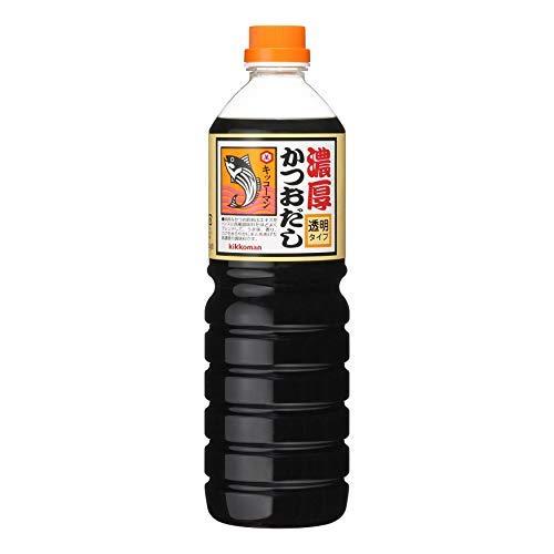 キッコーマン 濃厚かつお透明 1200g【入り数3】